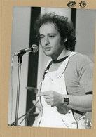 Le Chanteur MICHEL JONASZ En 1986 - Personnes Identifiées
