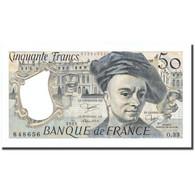France, 50 Francs, 50 F 1976-1992 ''Quentin De La Tour'', 1983, 1983, NEUF - 1962-1997 ''Francs''