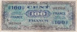 France - Billet De 100 Francs - Emission Alliés - Série 1944 - 1944 Drapeau/France