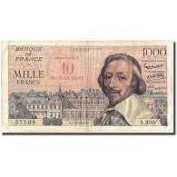 France, 10 Nouveaux Francs On 1000 Francs, 50 NF 1959-1961 ''Henri IV'', 1957 - 1959-1966 Nouveaux Francs
