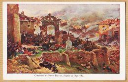 X57056 SAINT-PRIVAT Près GRAVELOTTE Moselle Bataille Amanvillers 18 Aout 1870 Cimetière D'après De NEUVILLE - France