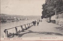 Seraing Quai Cockerill Animée RARE 1905 Liege (En Très Bon Etat) (In Zeer Goede Staat) - Seraing