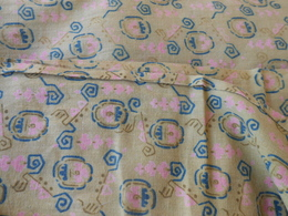 Tissu - Coupon De Tissu 3,20 X 0,75 Mètres - - Laces & Cloth