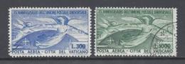 VATICANO 1949 75º ANNIVERSARIO UPU Nº 18/19 - Neufs