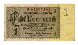 Germania - 1937 - Banconota Da 1 Marco - Usata - (FDC12162) - Altri
