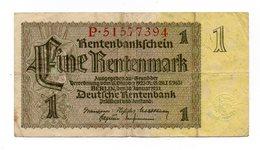 Germania - 1937 - Banconota Da 1 Marco - Usata - (FDC12162) - Other