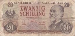 Autriche - Billet De 20 Schilling - 2 Juillet 1956 - Auer Von Welsbach - Autriche