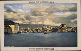 Cp Bergen Norwegen, Stadtpanorama, Elixir De Kempenaar - Norwegen