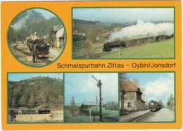 Schmalspurbahn (750 Mm)  Zittau - Oybin/Jonsdorf  - (D.D.R./ G.D.R.) - Treinen