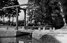 CPA Batellerie  - 18 - SAINT-AMAND-MONTROND - Pont Des Fromentaux - Saint-Amand-Montrond