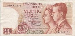 Belgique - Billet De 50 Francs - Beaudoin Ier & Fabiola - 16 Mai 1966 - Autres