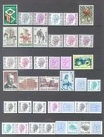 BELGIUM - 1975 - MNH/***LUXE -  JAAR ANNEE YEAR 1975 INCLUDED BOOKLETS  - QUOTATION 48.30 EUR - Lot 17855 - Belgique