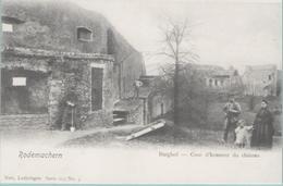 CPA:  RODEMACHERN  (Rodemack) (Dpt.57):  Burghof  -  Cour D'honneur Du Château En 1902.   (E1003) - France