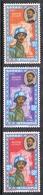 ETHIOPIE AERIEN N°68 A 70 N* - Ethiopie