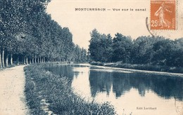 CPA  - 45 - MONTCRESSON - Vue Sur Le Canal - Edit. Lorillard - Autres Communes