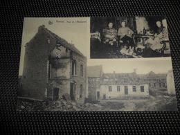 Havay ( Quévy )  Rue De L' Abreuvoir  Guerre 1914 - 1918  Oorlog  Soldat Allemands  Duitse Soldaten - Quévy