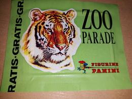 Zoo Parade Bustina Con Figurine Panini.tigre Edizione Gratis - Panini