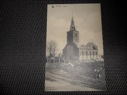 Havay ( Quévy )  Eglise  Kerk  Ruines  Ruinen  Guerre 1914 - 1918  Oorlog - Quévy
