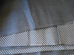 Tissu - Coupon De Tissu  Noir 2,00 X 0,95 Mètres - - Dentelles Et Tissus
