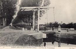 CPA Batellerie  - 45 - SAINT-AMAND-MONTROND - Le Pont Des Fromenteaux - Saint-Amand-Montrond