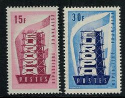 Europa-CEPT // France  // 1956 Timbres Neufs** - 1956