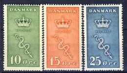+D2819. Denmark 1929. Cancer. Michel 177-79. MNH(**) - Unused Stamps