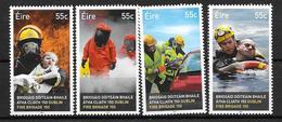 Irlande 2012 N°2024/2027 Neufs ** Pompiers - 1949-... République D'Irlande