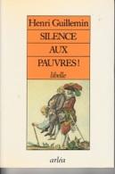 Henri Guillemin -Silence Aux Pauvres! -Révolution Française - History