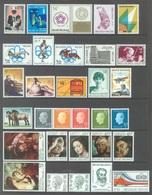 BELGIUM - 1976 - MNH/***LUXE -  JAAR ANNEE YEAR 1976 COMPLETE WITH  BLOCS - QUOTATION 44.50 EUR - Lot 17856 - Belgique