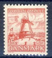 +D2831. Denmark 1937. Dybbøl Mill. Michel 236. MNH(**) - 1913-47 (Christian X)