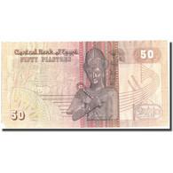 Billet, Égypte, 50 Piastres, 1987, 1987-1989, KM:58b, B+ - Egypte
