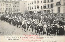 Namur // Jubile De M.le Goeverneur Baron De Montpellier 1909 // Defile Des Ecoles No 6 // 19?? Promotion Campina - Namen