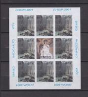 FEUILLE NEUVE** EUROPA 2001  - L'EAU RICHESSE NATURELLE - EMISSION KOSOVAR - Kosovo