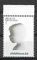 Belg. 2018 - COB N° 4775 ** - 20 Ans De Child Focus - Belgien