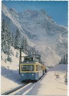 Bayr. Zugspitzbahn Gegen Zugspitzgipfel (2966 M) - Winter, Schnee -  (D.) - Trains