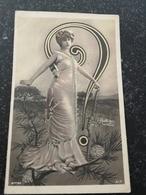 Reutlinger Paris // Photomontage Questionmark ? // Used 1904 - Illustratoren & Fotografen