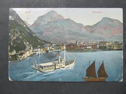 AK RIVA DEL GARDA 1910 Schiff //  D*34319 - Italien