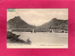 38 Isère, Grenoble, Le Nouveau Pont Du Drac Et Le Néron, 1905, (A. V., L. P.) - Grenoble
