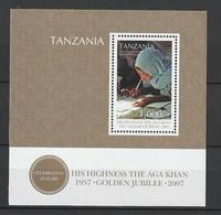 Tanzania - 2007 The 50th Anniversary Of The Coronation Of Aga Khan - S/s - Mnh - Tanzania (1964-...)