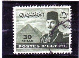 B - 1947 Egitto - Re Farouke Piramidi Di Giza - Egypt