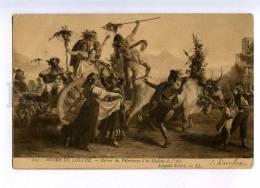 202852 PILGRIM Dance BULL By Leopold ROBERT Vintage PC - Robert