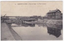 Seine-Saint-Denis - Aubervilliers - Vue Du Canal - Le Pont Tournant - Aubervilliers