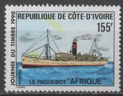 COTE D'IVOIRE - Journée Du Timbre 1990 - Costa De Marfil (1960-...)