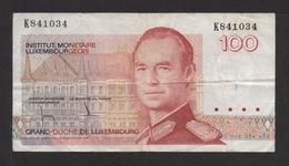 LUXEMBOURG. Billet De 100 Francs .(1886) Série K841034 . - Luxembourg