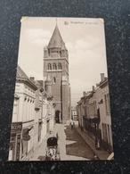 Borgerhout // St.Jan's Kerk Met Koets En Melior Cigares Winkel // Plakresten Hoekjes - Antwerpen