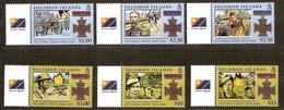 Salomon Solomon Islands 2006 Yvertn° 1188-1193 *** MNH Cote 16,00 Euro Victoria Cross - Salomon (Iles 1978-...)