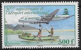 2010 Polynésie Française. N°  929  Nf**  MNH.  Cinquantenaire De L'aéroport International. - Polynésie Française
