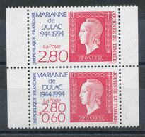 2864A** Marianne De Dulac (Paire Issue De Carnet) - Unused Stamps