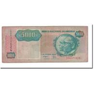 Billet, Angola, 5000 Kwanzas, 1991, 1991-02-04, KM:130b, B+ - Angola
