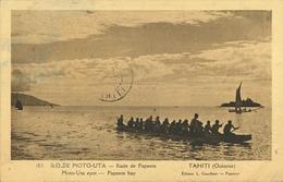 Polynésie Française - Océanie - Tahiti - Rade De Papeete - Ilo De Moto-Uta (jamais Vue Sur Delcampe) - Polynésie Française